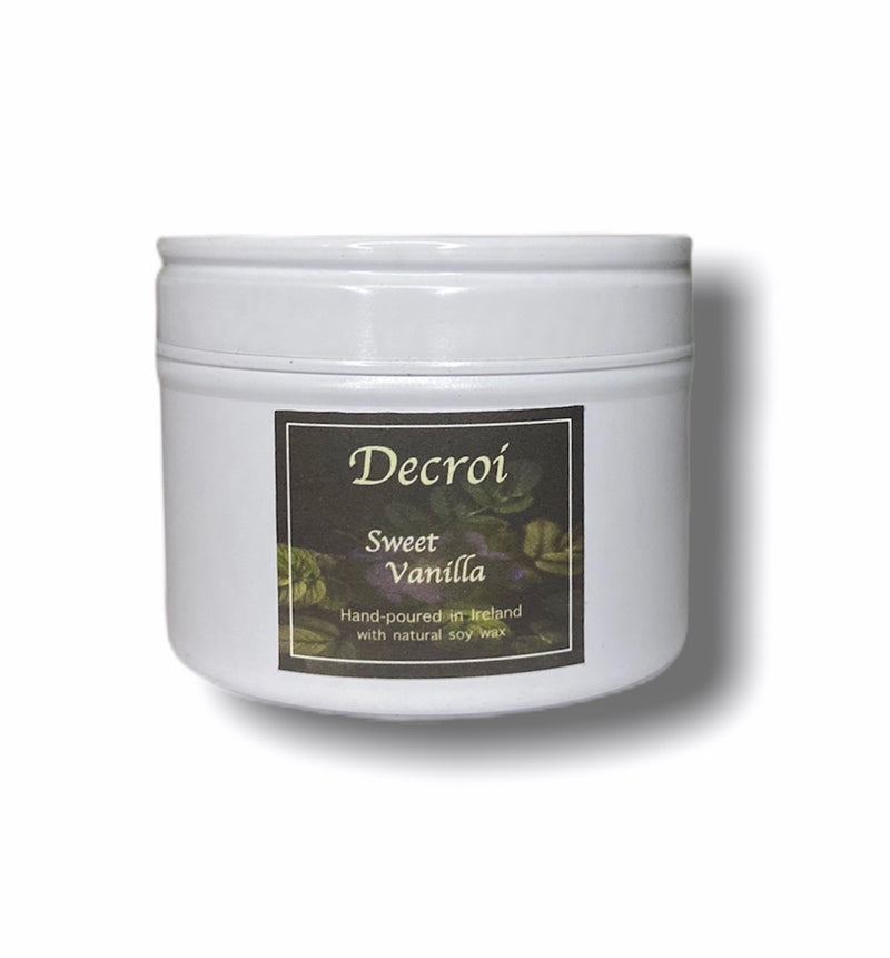 Natural Soy Candle Votive: Sweet Vanilla - Decroí