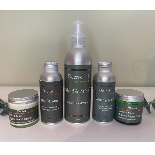 Decroí: Wellness Mend and Mind Care Gift Set