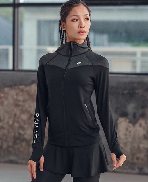 Thumb Hole Yoga Jacket - betterlife24