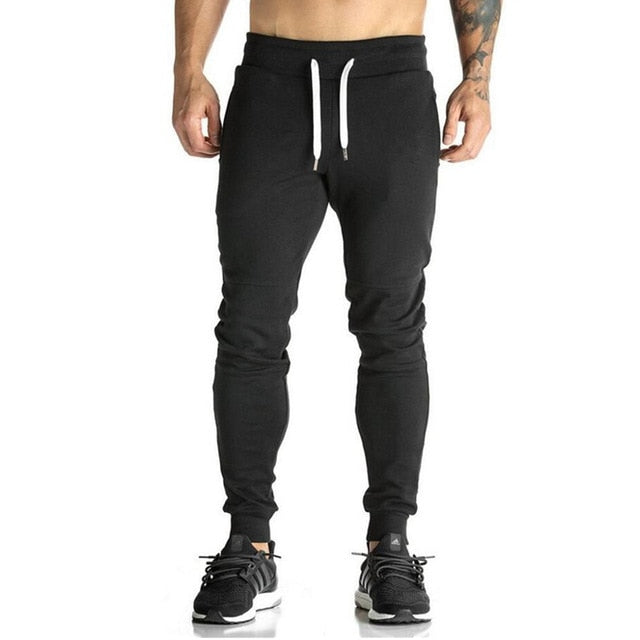 Gym Men Casual Cotton Pencil Pants - betterlife24