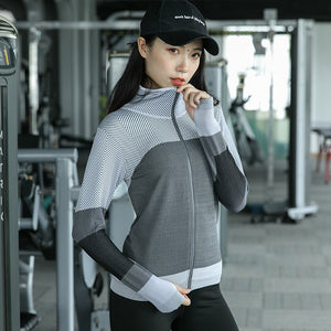 Women Hooded running jacket - betterlife24
