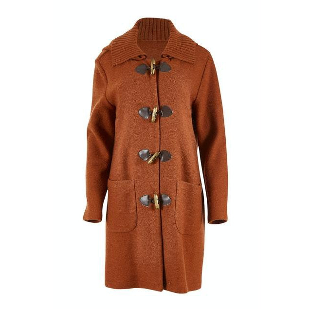 Duffle Coat in Ginger