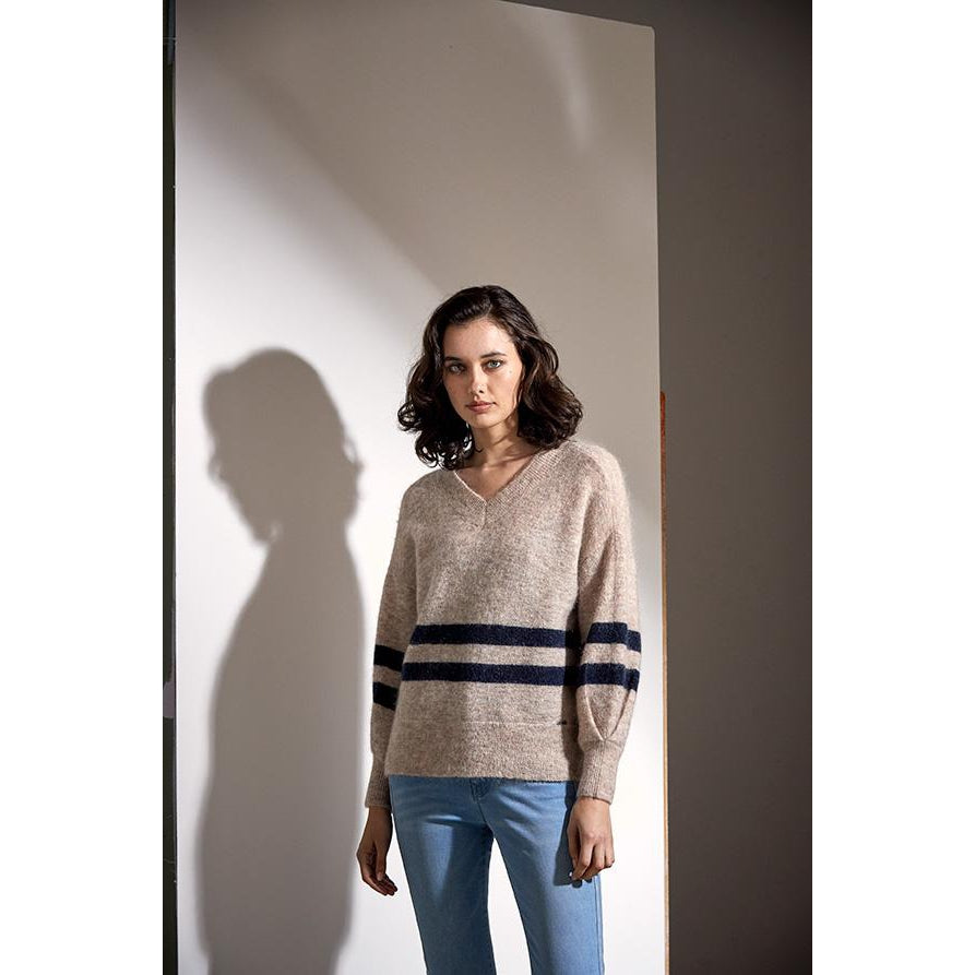 The Prince Stripe Sweater