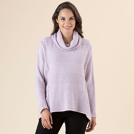 Soft Mauve Wool Jumper