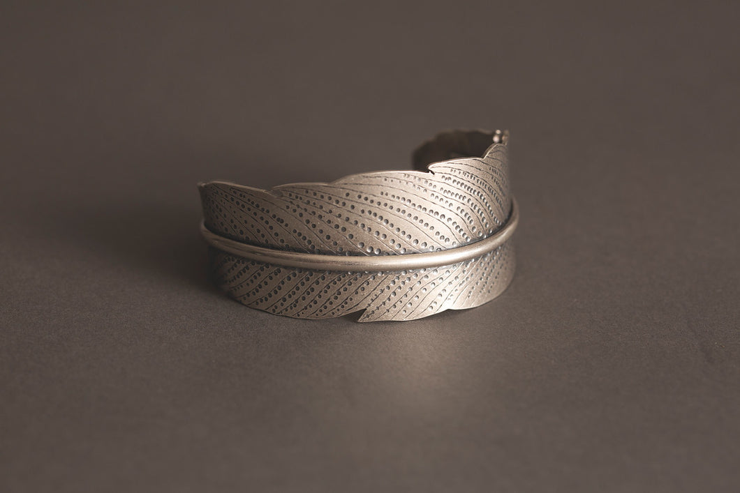 Textured Feather Cuff