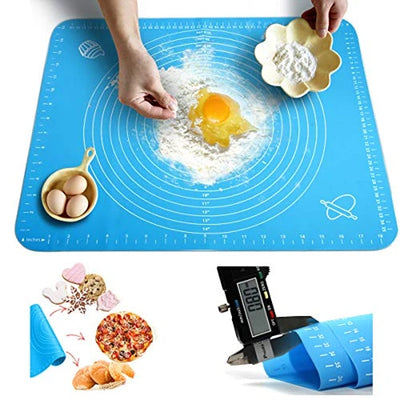 [Last Day Promotion, 51% OFF & More Extra Big Discounts] Non-Stick Pastry Mat (19.7x15.7inches) - Buy More Save More - goodwearing