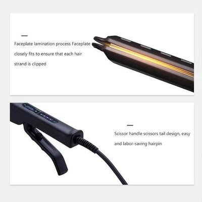 [Last Promotion 70% OFF] Ceramic Tourmaline Ionic Flat Iron Hair Straightener - goodwearing