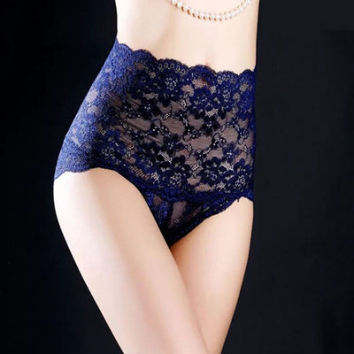 【4 Pieces set】Seamless Lace Panty - goodwearing
