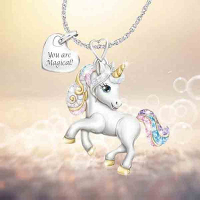 [HOT SELLING 50% OFF] Unicorn Necklace - BUY MORE SAVE MORE