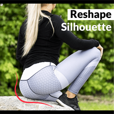 ❤️LAST DAY 50% OFF + BUY 2 GET EXTRA 10% OFF❤️Anti-Cellulite Mesh Pattern Leggings - goodwearing