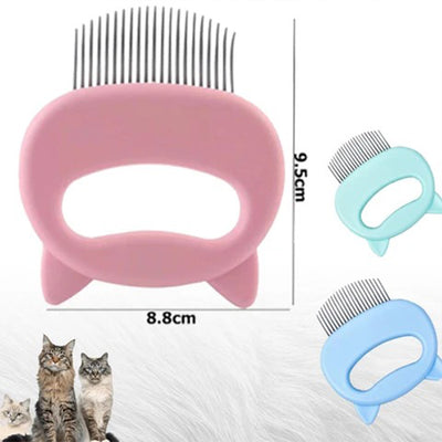 [Hot Sale, 50% OFF] Pet Hair Removal Massaging Shell Comb
