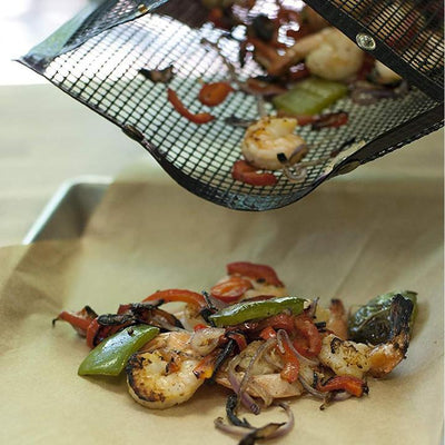[Hot Sale] Reusable Non-Stick BBQ Mesh Grill Bags - goodwearing