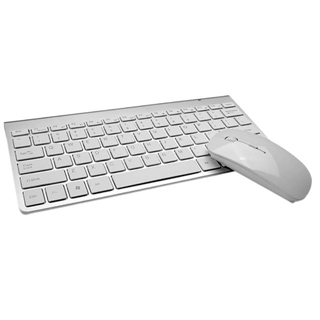 Ergonomic 1200 DPI 2.4GHz Wireless Keyboard and Mouse Set Combo For PC Laptop