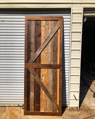 Reclaimed Barnwood Barn Door