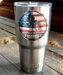 "Tennessee Lumber & Supply ""American Flag"" 3"" Sticker"