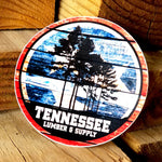 "Tennessee Lumber & Supply ""Tennessee Flag"" 3"" Sticker"