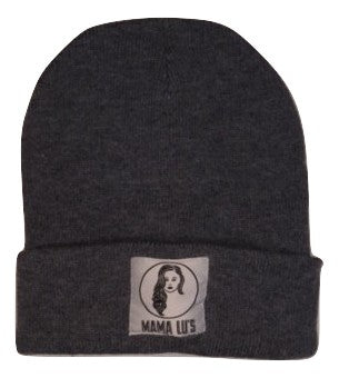 Heather Navy Beanie