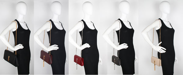 4d9c5242350 Left to Right - Large, Medium, New Small, Original Small, WOC (Wallet on  Chain):