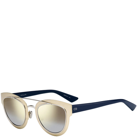 Dior Chromic Sunglasses, Gold/Palladium Blue