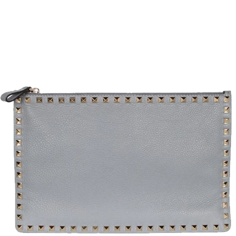 Flat Pouch Grained, Stone