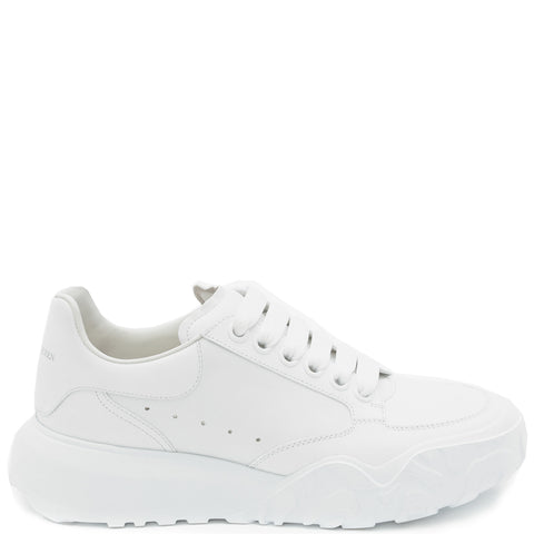 Oversized Court Sneaker Tonal, White
