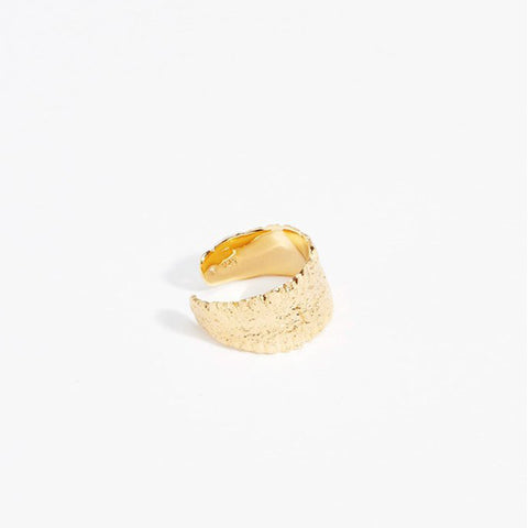 Anchovy Ring Large, Gold