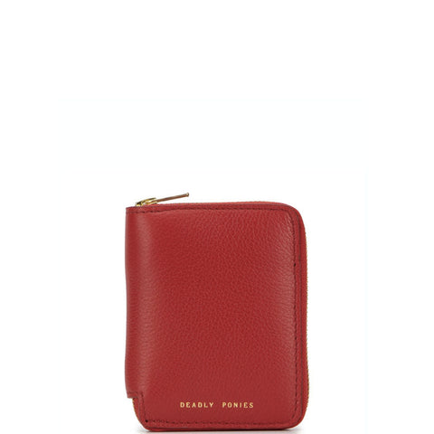 Mr Mini Wallet, Garnet