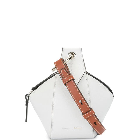Zippered Pochette, Optic White
