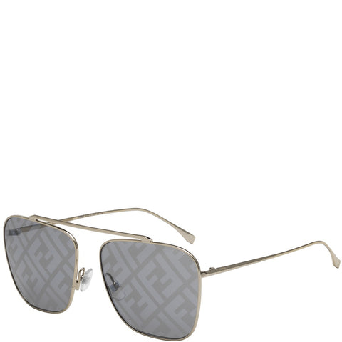Fendi Family FF, Pale Gold/Grey