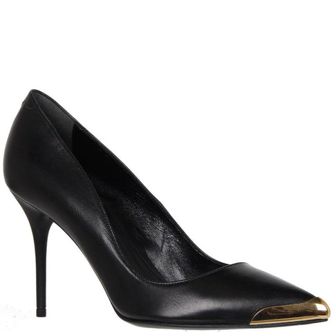 Toe Cap Pump Nappa, Black