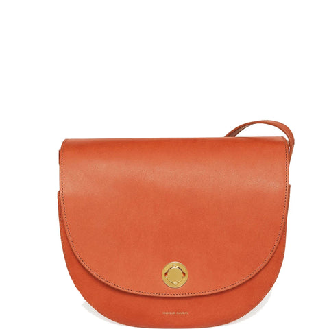 Saddle Bag Vegetable Tanned, Brandy