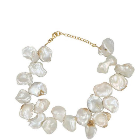 Fistiki Pearl Anklet, Gold