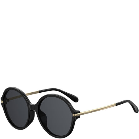 Givenchy Round Acetate, Black