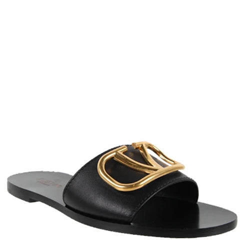 Metal VLogo Slides, Black