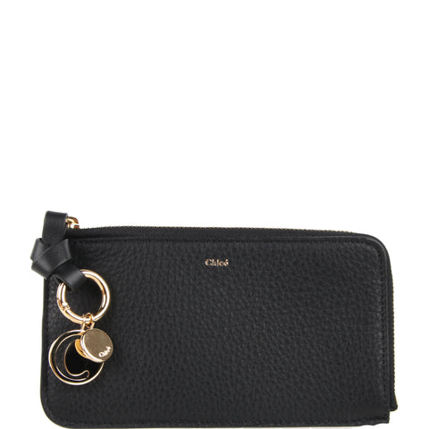 Alphabet Medium Purse, Black