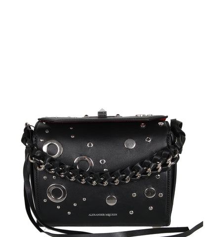 Box Bag 19 Eyelet (S), Black