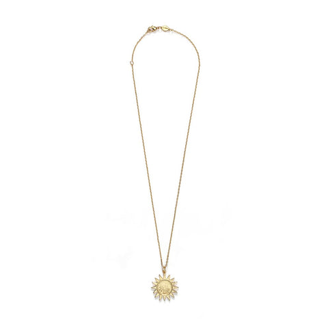 Lady Liberty Necklace, Gold