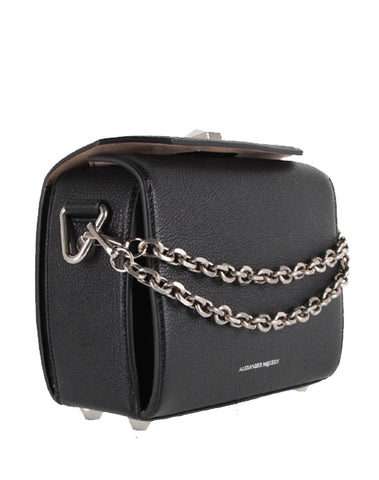 Box Bag 19 Grained (S), Black