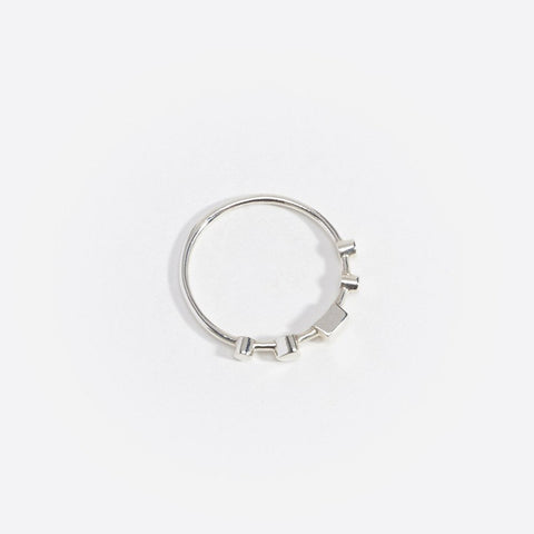 Artemis Ring I, 9kt White Gold