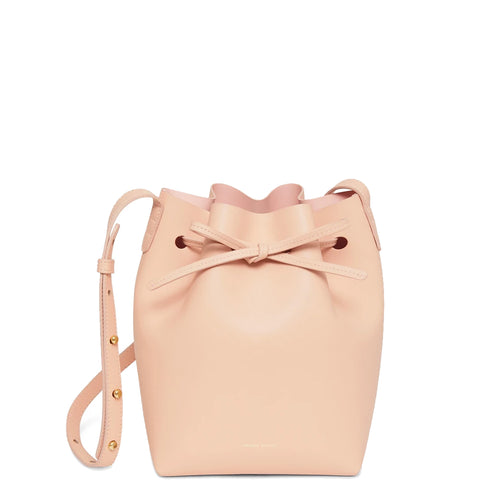Bucket Bag Mini Calf, Rosa/Rosa