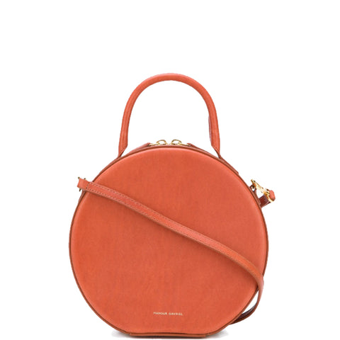 Circle Crossbody Vegetable Tanned, Brandy