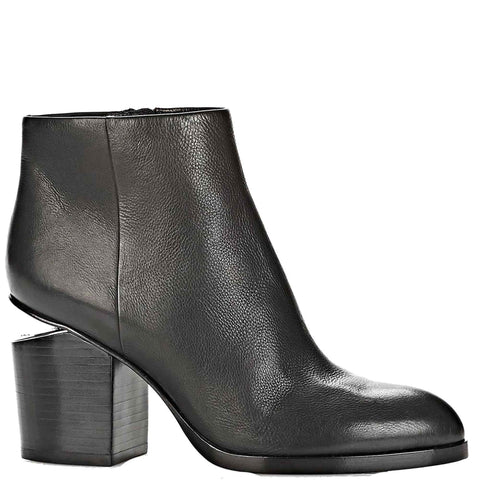 Gabi Boots 80, Black/Rhodium