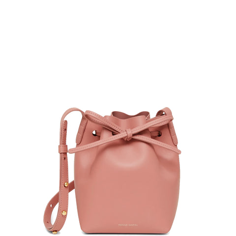 Bucket Bag Mini Mini Calf, Blush/Blush