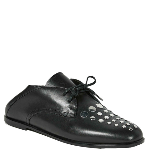 Camy Fold Loafer, Black