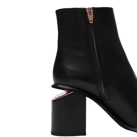Anna Boots 85, Black/Rose Gold