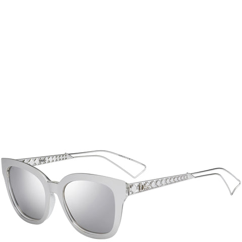 Dior Diorama 1F Smart Fit Sunglasses, Silver
