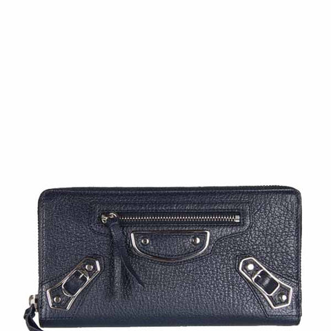 City Wallet Zip ME, Blue Nuit/Silver