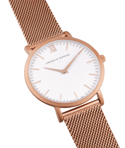 Lugano 40mm, Rose Gold