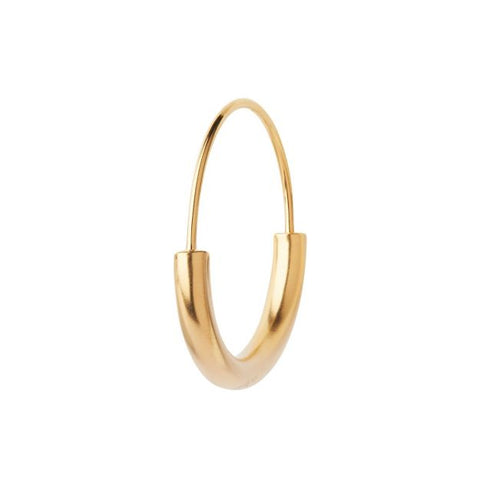Serendipity Hoop Small, Gold HP