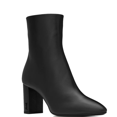 Lou Ankle Boot 70 Smooth, Black